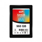 "Dysk SSD Silicon Power Slim S55 SP960GBSS3S55S25 (960 GB ; 2.5""; SATA III)"