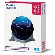 Belair Gifts Number One Selling Creative Activity Boys & Girls Fun Educational Gift Idea for Christmas Or Birthday Age 8+ Science Museum Create a Starry Night Sky Cool Constellations
