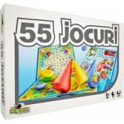 Joc de societate - 55 de Jocuri intr-unul singur