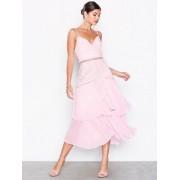 True Decadence Floral Lace Mini Dress Skater Dresses Light Pink