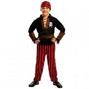 Viving Costumes S.L Disfarce InfantilRapaz Pirata Bandana 3-4 anos