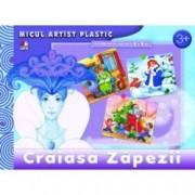 Craiasa Zapezii. Activitati 3-5 ani. Micul artist plastic