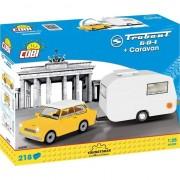 Set de constructie Cobi, Cars, Trabant 601 Caravan (223pcs)