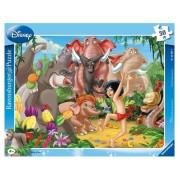 Puzzle Mowgli si Baloo, 30 piese