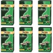 Pachet promotional 6 pachete cafea macinata Jacobs Kronung 250 g