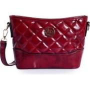 Lino Perros Women Maroon Sling Bag