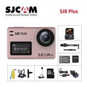 SJCAM SJ8 Plus Cámara de Acción deportes 1290P DV4K WiFi remoto 30m impermeable bajo el agua SJ cámara de deporte al aire libre(#Blanco)(#SJ8Plus Full Set Box)