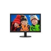 Monitor LED 23,6 WVA widescreen 243V5QHABA Philips