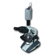 Laboratorní mikroskop s videokamerou
