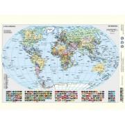 Tanulói munkalap, A4, STIEFEL Föld domborzata/ A Föld országai (VTM22)