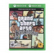 Xbox 360 / One Juego Grand Theft Auto San Andreas