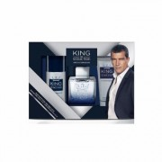 Antonio Banderas King of Seduction Eau de Toilette Spray 100ml Set 3 Parti 2018