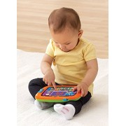 VTech Early Education Toy Light-Up Baby Touch Tablet, Orange Music Toy for Kids