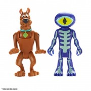 Set 2 figurine 7 cm Scooby Doo si Skeleton Man Character Option