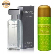Eternal Love Eau De Parfum Men 120ml + Eternal Love Body Spray Xlouis Women 200ml