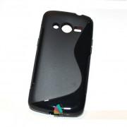 Husa Silicon Gel Samsung Galaxy Core 4G G386F LTE S-Line Neagra