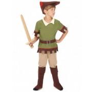Disfraz de hombre del bosque niño M 7-9 años (120-130 cm)