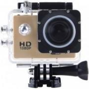 Camera Sport iUni Dare 50i HD 1080P 12M Waterproof Auriu Bonus Bratara Roca Vulcanica unisex