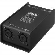 IMG STAGELINE FGA-202 Stereo-Line-Übertrager Klinke / Xlr Combobuchse