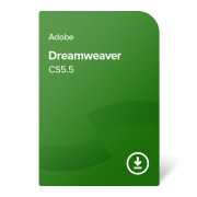 Adobe Dreamweaver CS5.5 ENG ESD (ADB-DREAM-CS5.5-EN) електронен сертификат