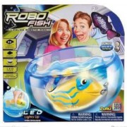 Комплект робофиш с LED светлина в аквариум, ZURU LED RoboFish and bowl, 473009