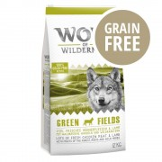 "Wolf of Wilderness Adult ""Green Fields"" - Agnello - 2 x 12 kg"