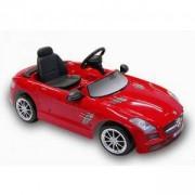 Детски Автомобил с батерия, MERCEDES SLS AMG червен, 313008