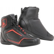 Dainese Raptors Motorcycle Shoes Black Red 37
