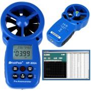HOLDPEAK 866A Digitális szélerősség és hőmérsékletmérő 0.8-40msec -10C-60C.