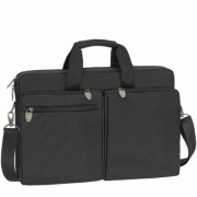 Notebook táska, 17.3, RIVACASE Tiergarten 8550, fekete (NTRT8550B)