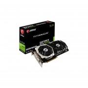 Tarjeta De Video NVIDIA GeForce GTX 1070Ti MSI Titanium, 8GB GDDR5, 1xHDMI, 1xDVI, 3xDisplayPort, PCI Express X16 3.0. GTX 1070 TI TITANIUM 8G