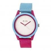 Crayo Pleasant Quartz Watch - Powder Blue/Fuchsia CRACR3905