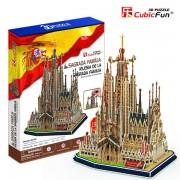 Cubicfun Catedrala Sagrada Familia Spania Puzzle 3D 194 de piese