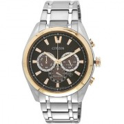 Citizen Quartz Black Dial Mens Watch-CA4015-54E