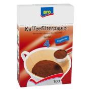 Filtre Cafea ARO Nr 4 100 BUC, set 3 pachete