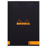 Exacompta Clairefontaine Rhodia Block liniert DIN A5 70 Blätter elfenbeinfarbenes Clairefontaine Papier