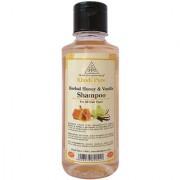 Khadi Pure Herbal Honey Vanilla Shampoo - 210ml