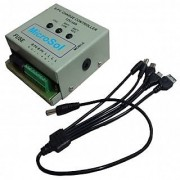 12V/10A PWM Solar Charge Controller With Mobile Charger and Load