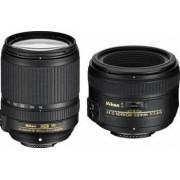 Pachet Obiective Foto Nikon AF-S 50mm f1.4G + 18-140mm f3.5-5.6G ED VR AF-S DX