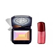 7 lights powder illuminator pó iluminador multicolorido 12g oferta ultimune 10ml - Shiseido