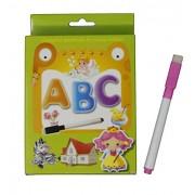 Fusine™ NEW Creative Educational Aids Preschool concepts, Number Concepts, Alphabets Concepts( Flash Cards with Pen )( Write & Learn ) (Alphabets)