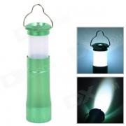MR-093 1-LED linterna de camping linterna blanca 3 modos - verde (3 x AAA)