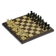 Mágneses fa sakk készlet