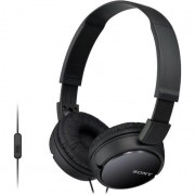 Sony MDRZX110APB Extra Bass Smartphone headphones (Black)