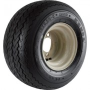 Kenda Golf Cart Hole-N-1 Wheel and Tire Assembly - 18 x 8.50-8, Sawtooth Bias Ply, Fits Yamaha Carts