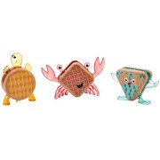 Fisher-Price Wooden Toys Shape-imals, 3 Pack