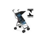 Carrinho De Bebê Guarda-Chuva Azul Para Passeio Kids