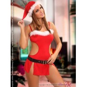 Malizioso costume babba Santa Girl