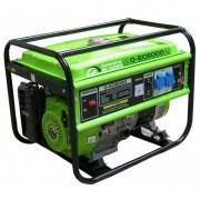 Generator portabil de curent electric monofazat, motor benzina, 4.3KW, Greenfield G-EC6000