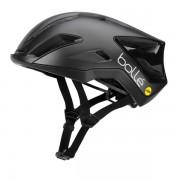 Bollé biciklistička kaciga EXO Mips, Matte & Gloss Black, crna, 52-55 cm